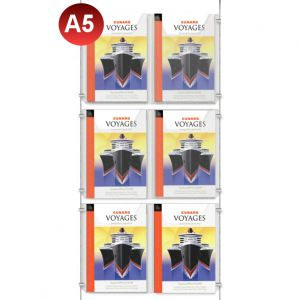 6x A5 Leaflet Dispenser Kit